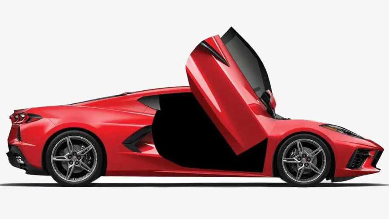 Ламбо-двери для Corvette C8