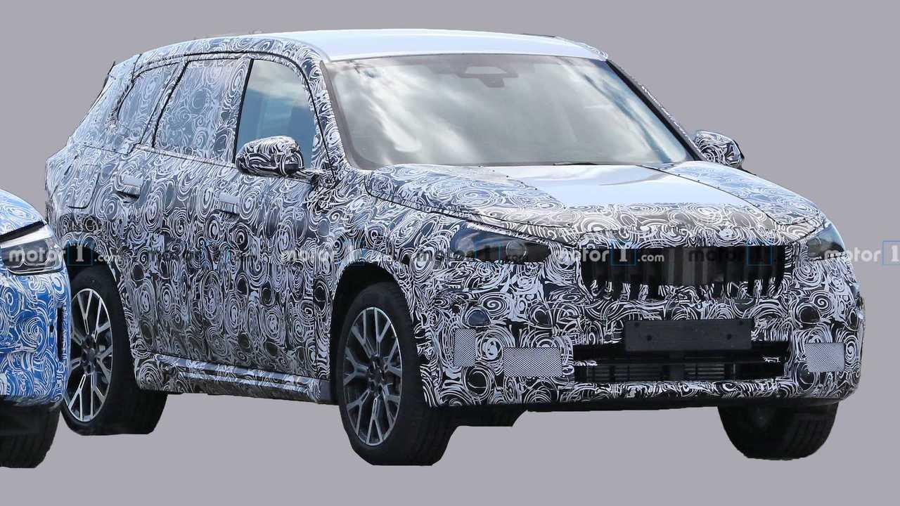 BMW X1 Spy Fotók
