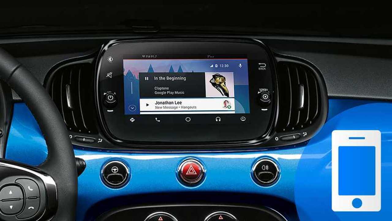 APP 500 Mirror Android Auto 2