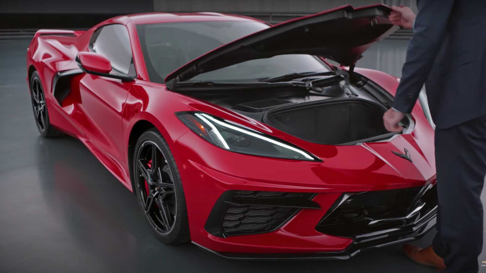 2020 Chevy Corvette Getting Complaints Over Frunk Opening While Driving