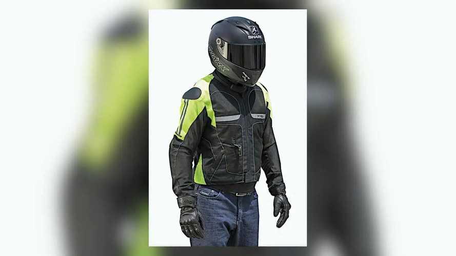 Helite Free-Air Vented Hi-Viz Airbag Jacket
