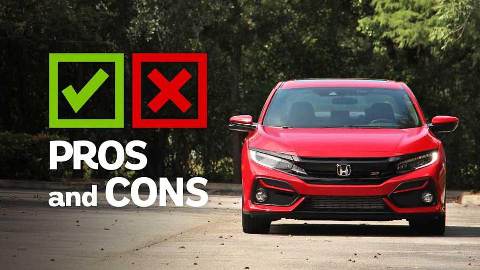 2020 Honda Civic Si Sedan Hpt Pros And Cons