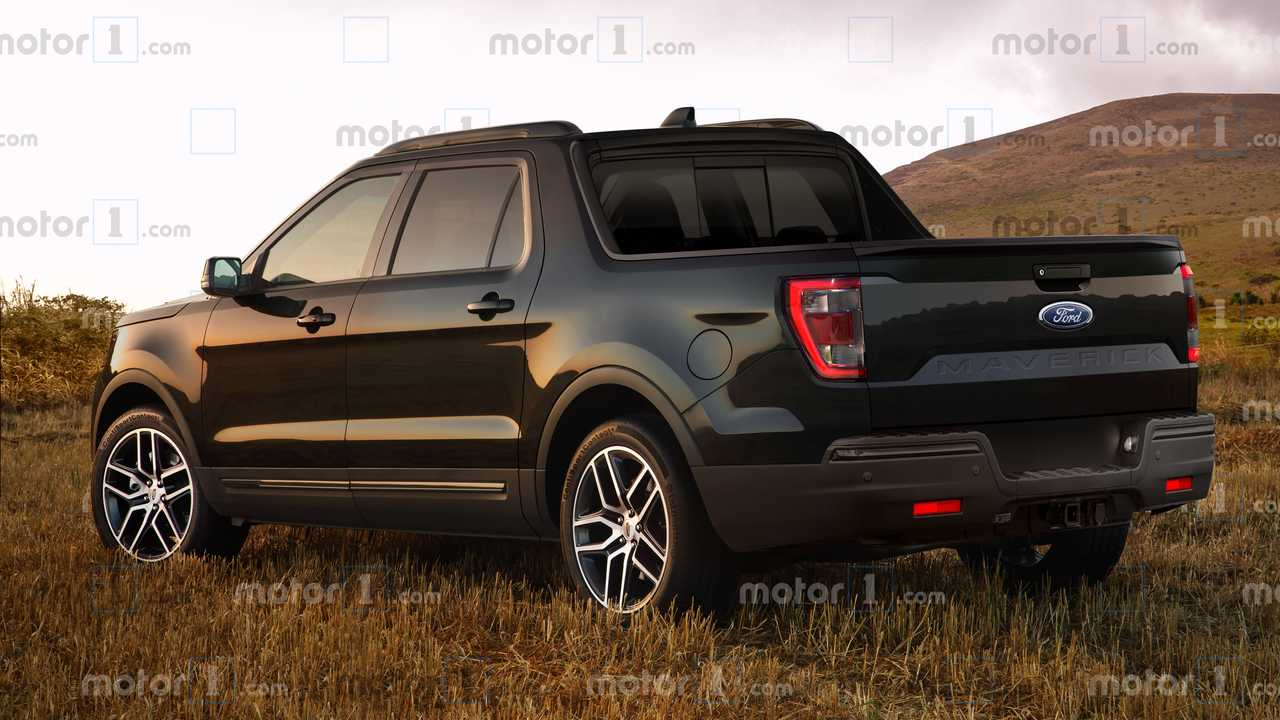 2021 Ford Maverick Pickup Render'ları