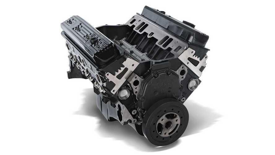 GM, V8 di ricambio nuovi per van e pick up classici