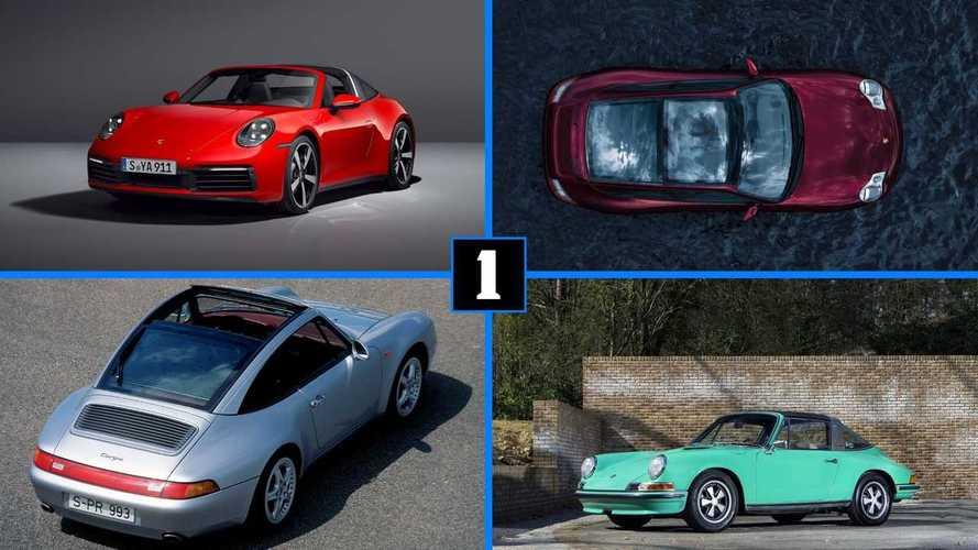 DIAPORAMA - L'histoire de la Porsche 911 Targa en photos