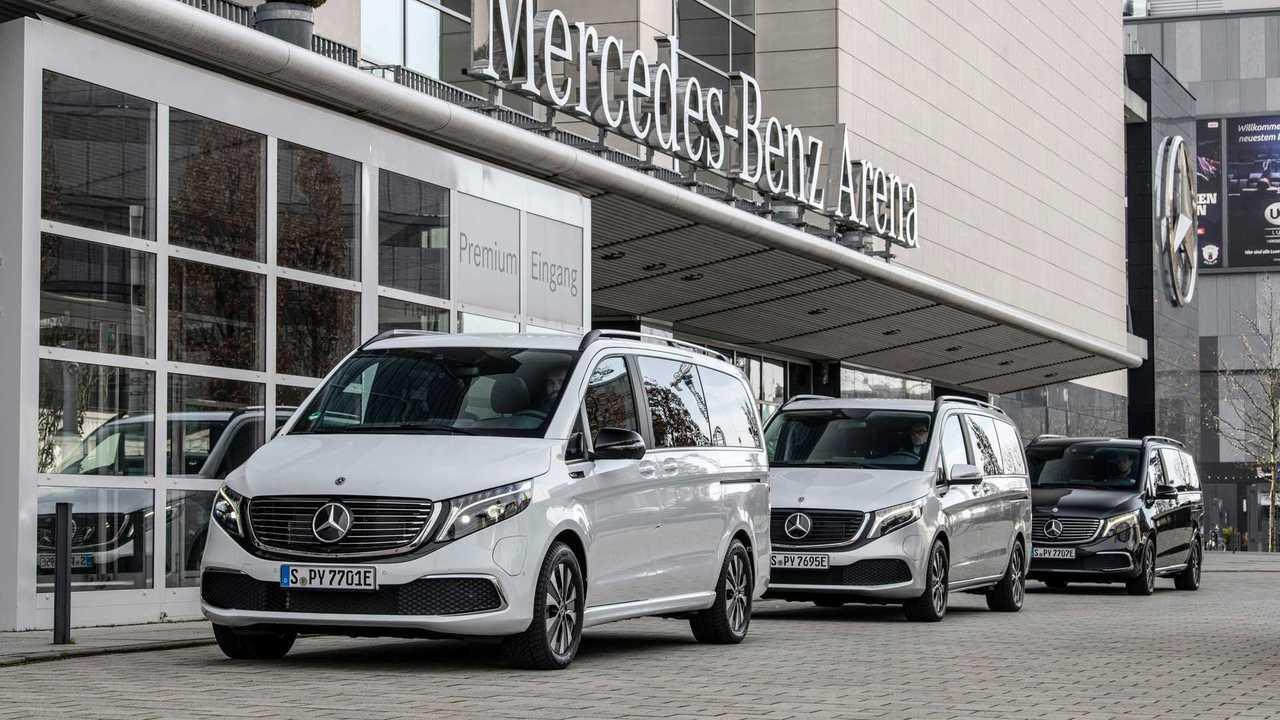 Mercedes EQV, inizia la produzione