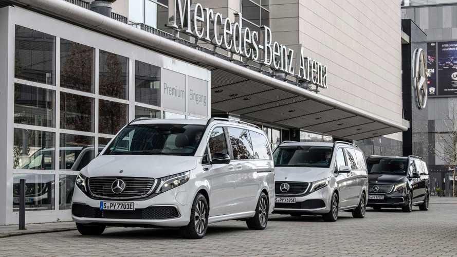 Mercedes EQV, in Germania il nuovo van elettrico parte da 70.000 euro