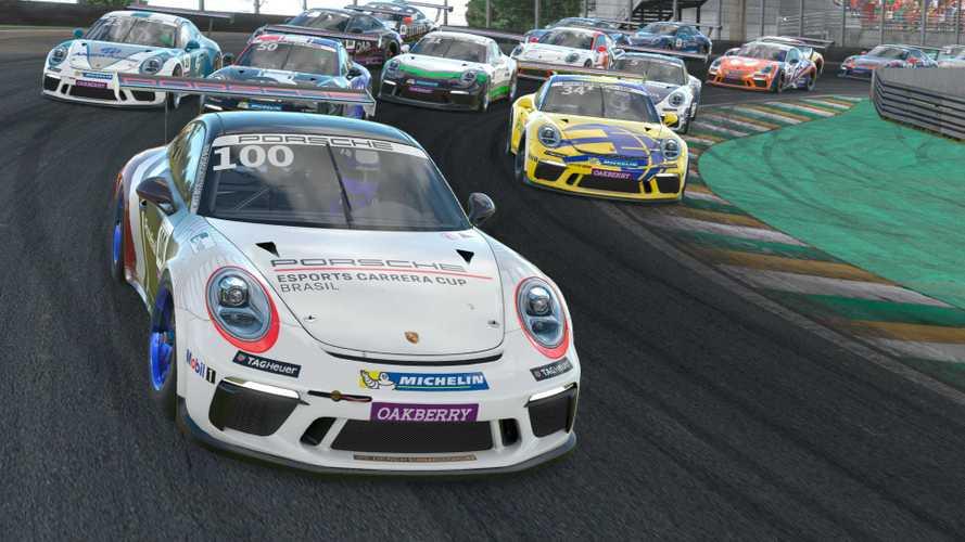 Assista à primeira etapa da Porsche Esports Carrera Cup em Interlagos