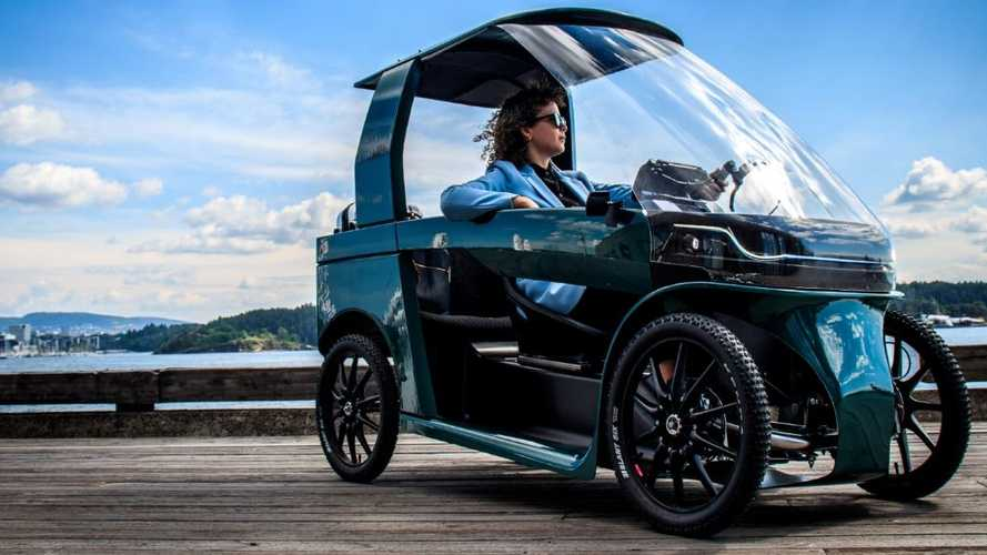 In The CityQ Car-eBike, The Driver/Rider Is The Range Extender