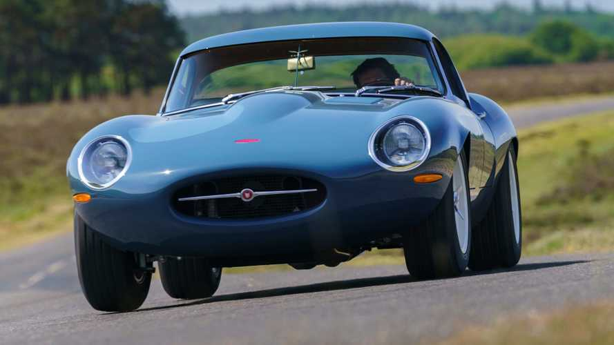 Eagle Lightweight GT Turns Jaguar E-Type Racer Into A Comfy Road Car