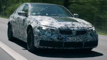 bmw m3 teaser video nurburgring