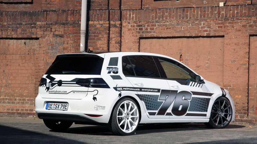 Das ist ein getunter VW e-Golf