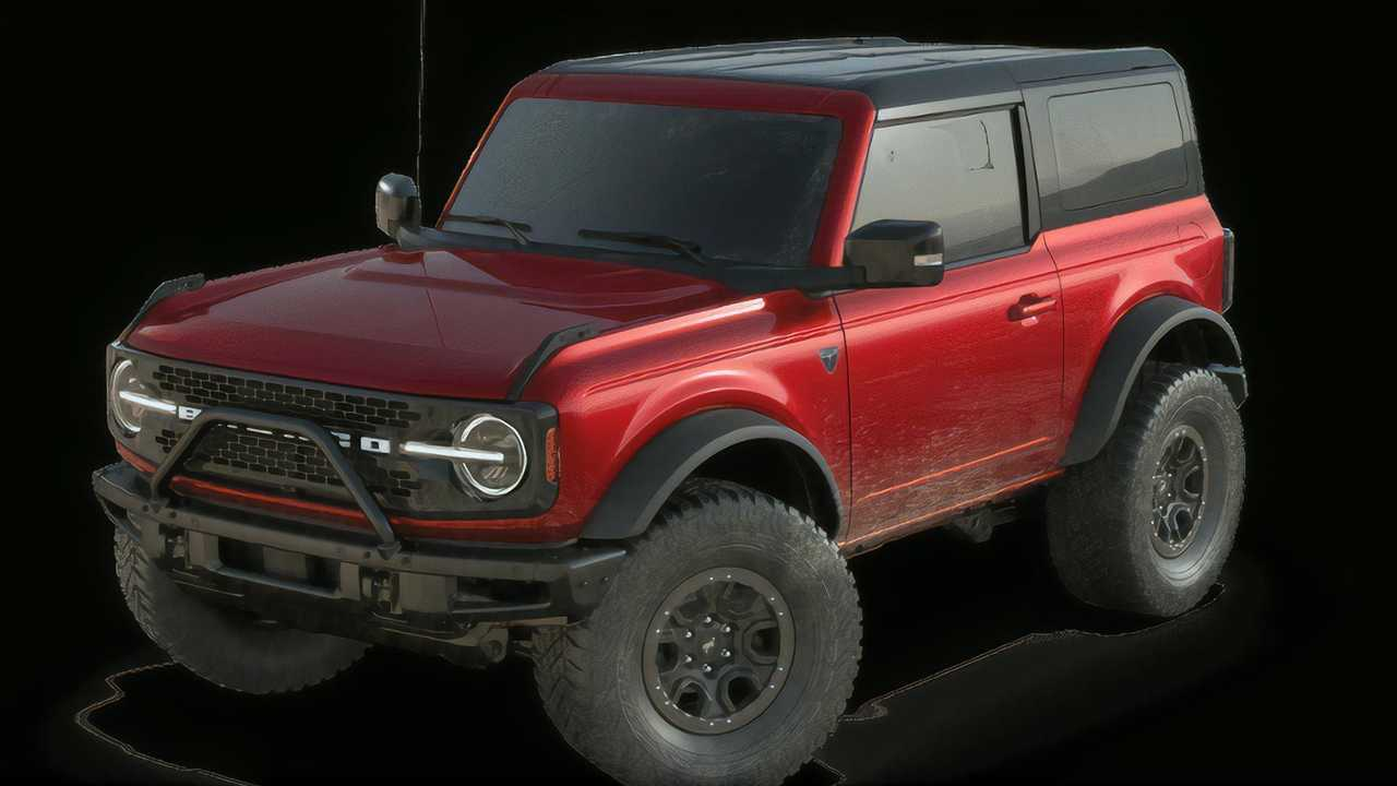 Ford Bronco Two-Door Exterior Colors