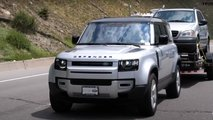land rover defender towing test