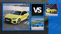 nuova audi s3 sportback vs bmw mercedes
