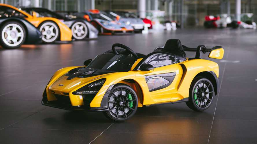 First-ever McLaren Senna 'Ride-On' revealed