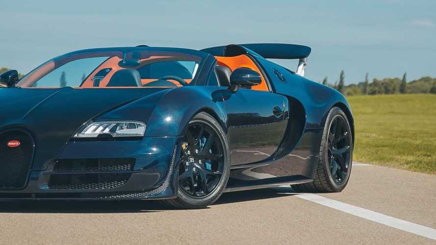H. R. Owen list rare Bugatti Veyron pair for sale