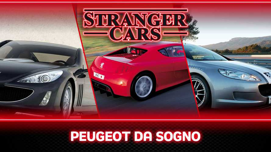Stranger Cars, le meraviglie sportive mai nate in casa Peugeot