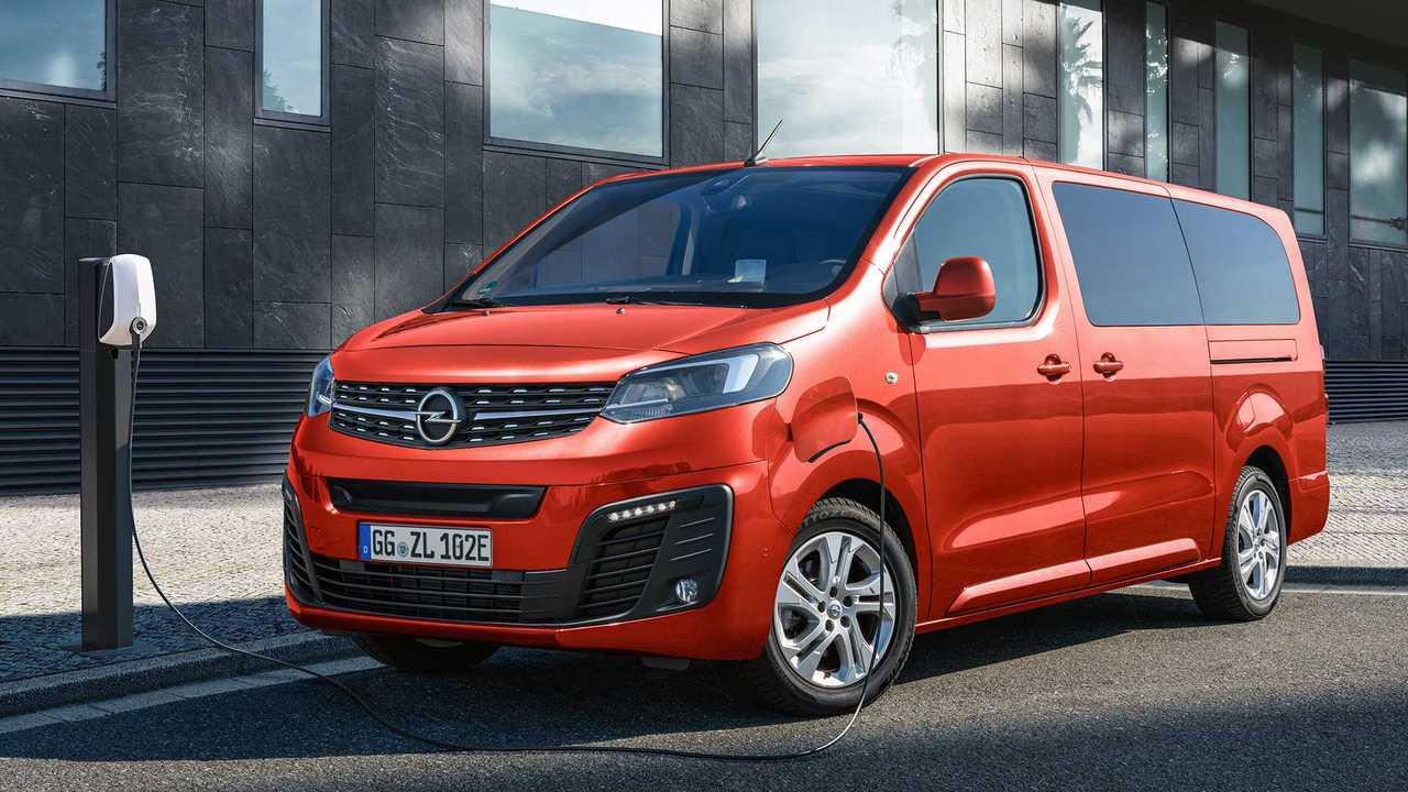 Opel Zafira-e Life (2020)
