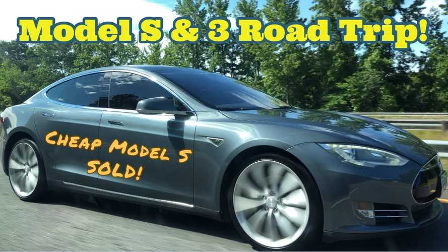 Tesla Model 3 & Model S Road Trip: Selling The 'Cheapest' Model S