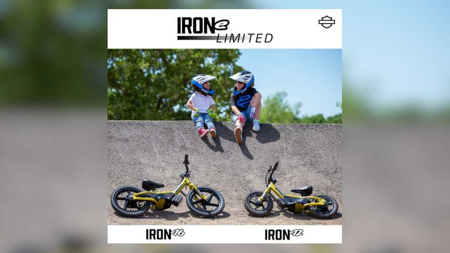 Harley-Davidson Launches Limited Edition IRONe Balance Bikes