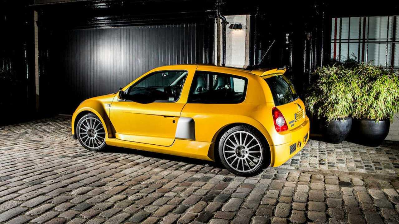 Renault Clio V6 Fase 2, subasta de Bonhams