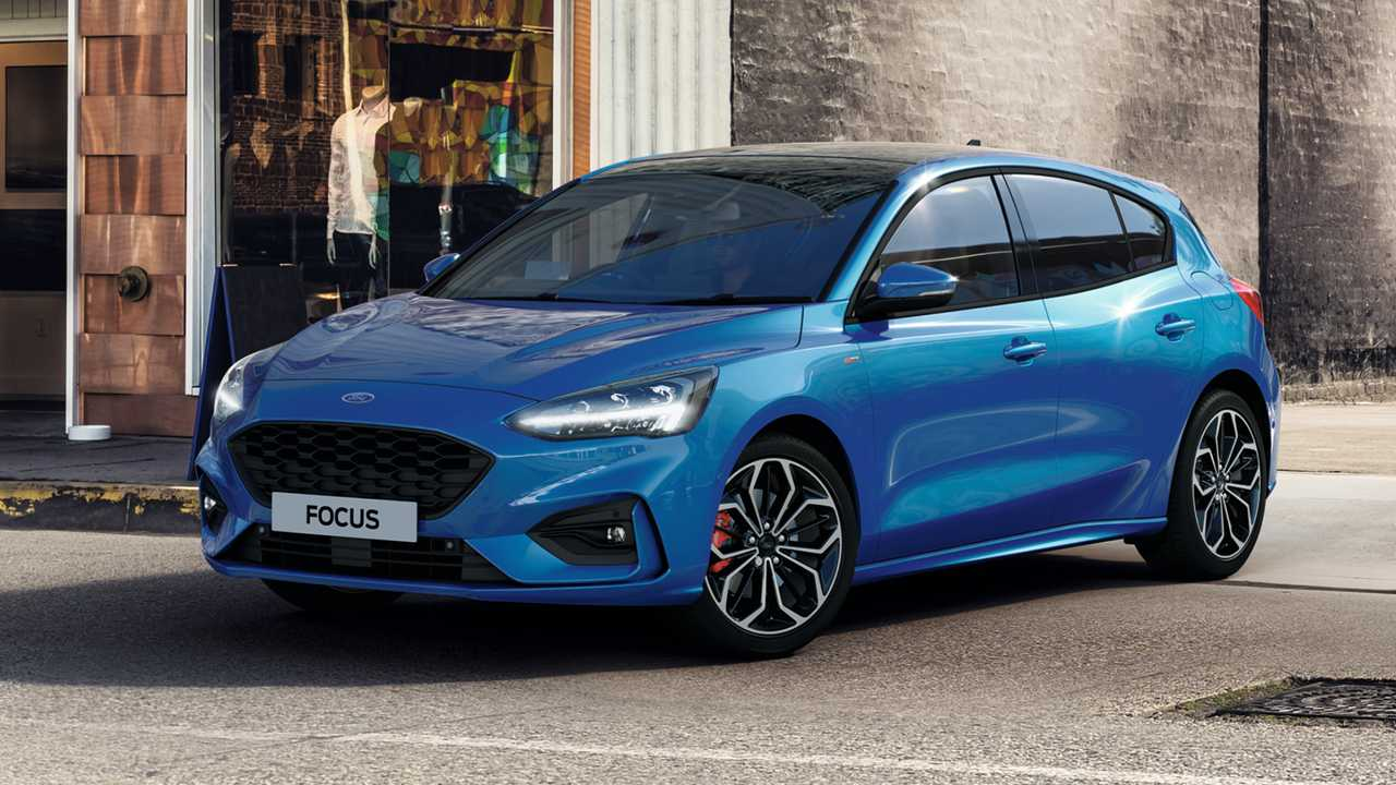 2020 Ford Focus Spy Shoot