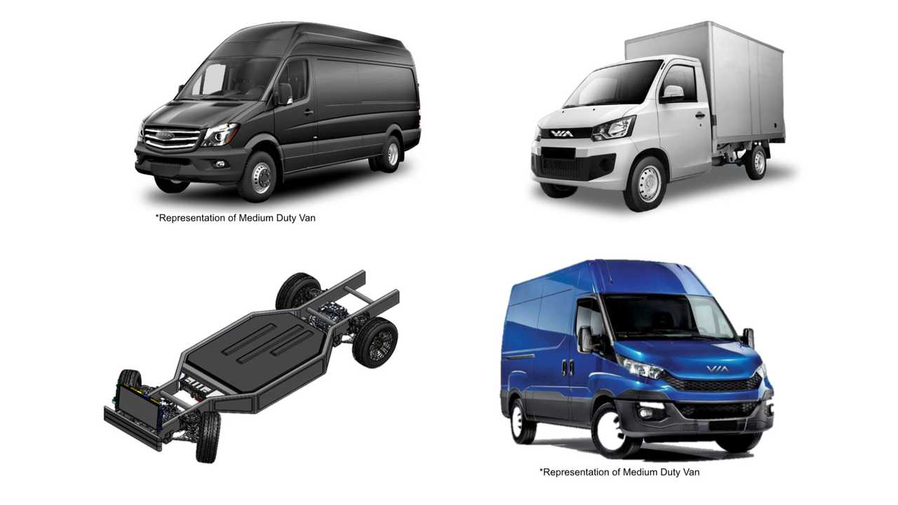 VIA Class 2-5 Urban Delivery Electric Vehicles