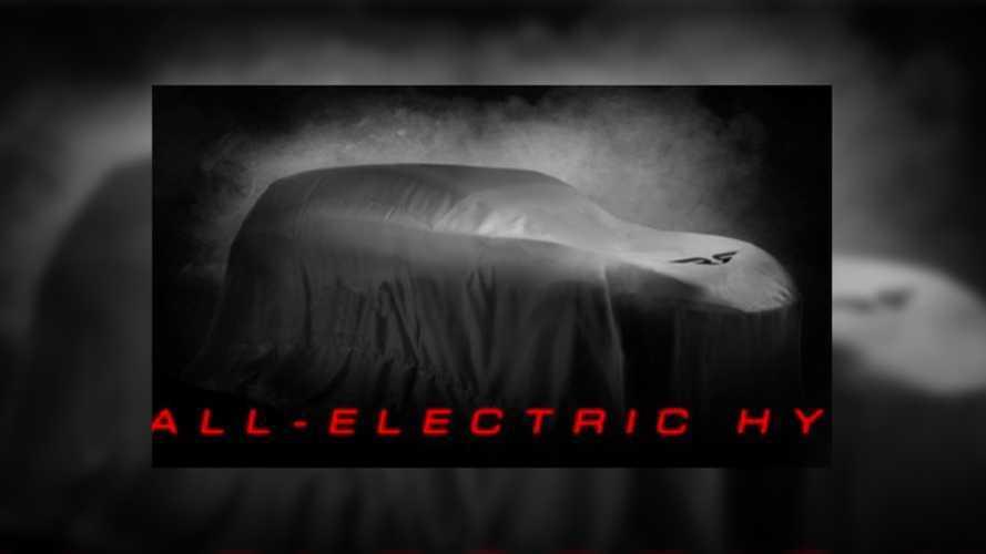 Ronn Motor Group'un yeni elektrikli hidrojenli aracından teaser geldi