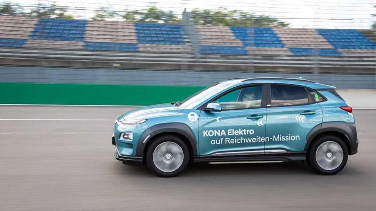 Hyundai Kona Electric 1000 km record