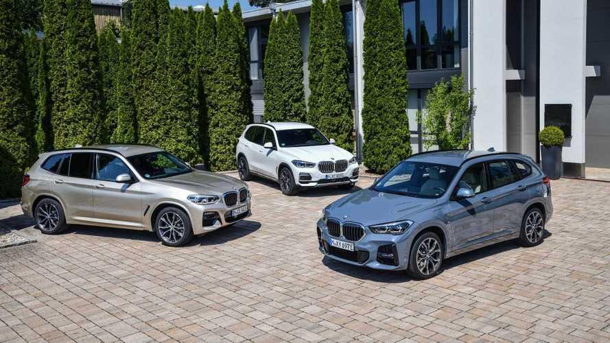 Gamme de modèles électrifiés BMW Group - Family Shots