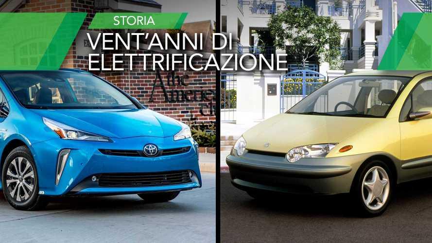 Vent'anni di ibride, storia della Toyota Prius fino alla 2020 Edition