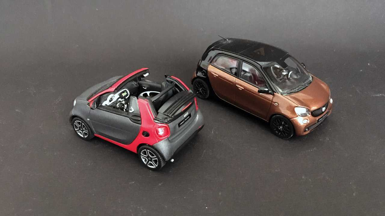 Smart Fortwo/Forfour (453) 1:43