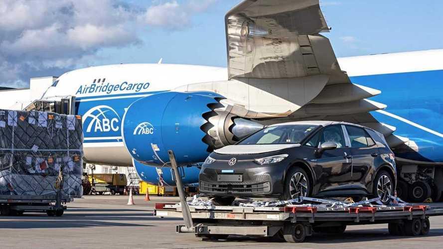Электрический Volkswagen ID.3 появился в России