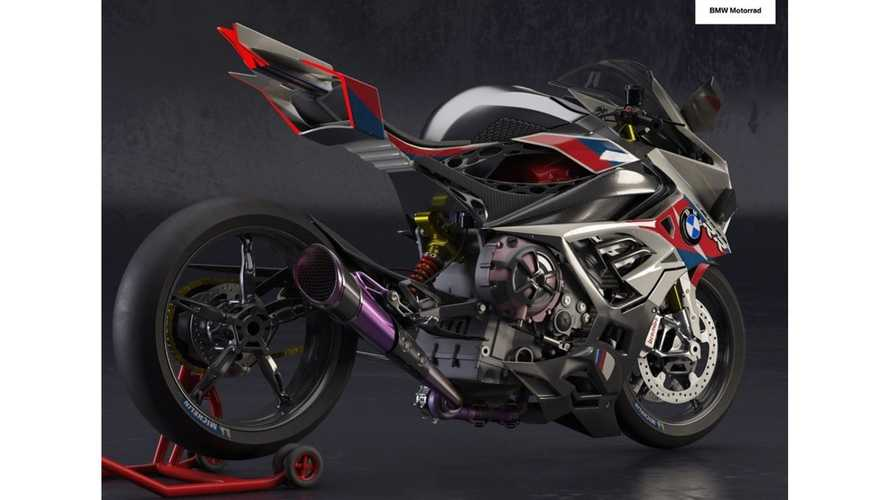 BMW M1000RR, i render dall'India