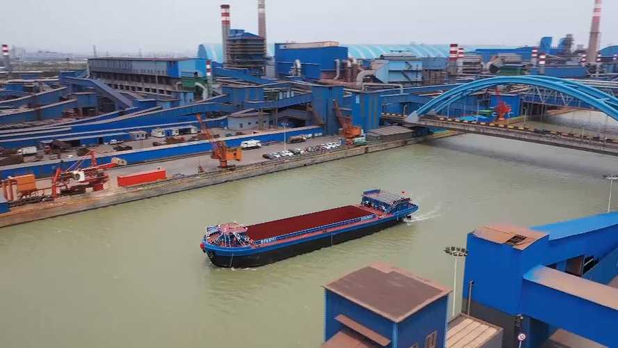 China Teases Electrification Of Its Longest River With EV Cargo Ship