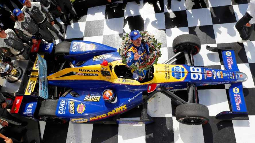 Alexander Rossi's centenary Indy 500-winning car sells for $1.13m