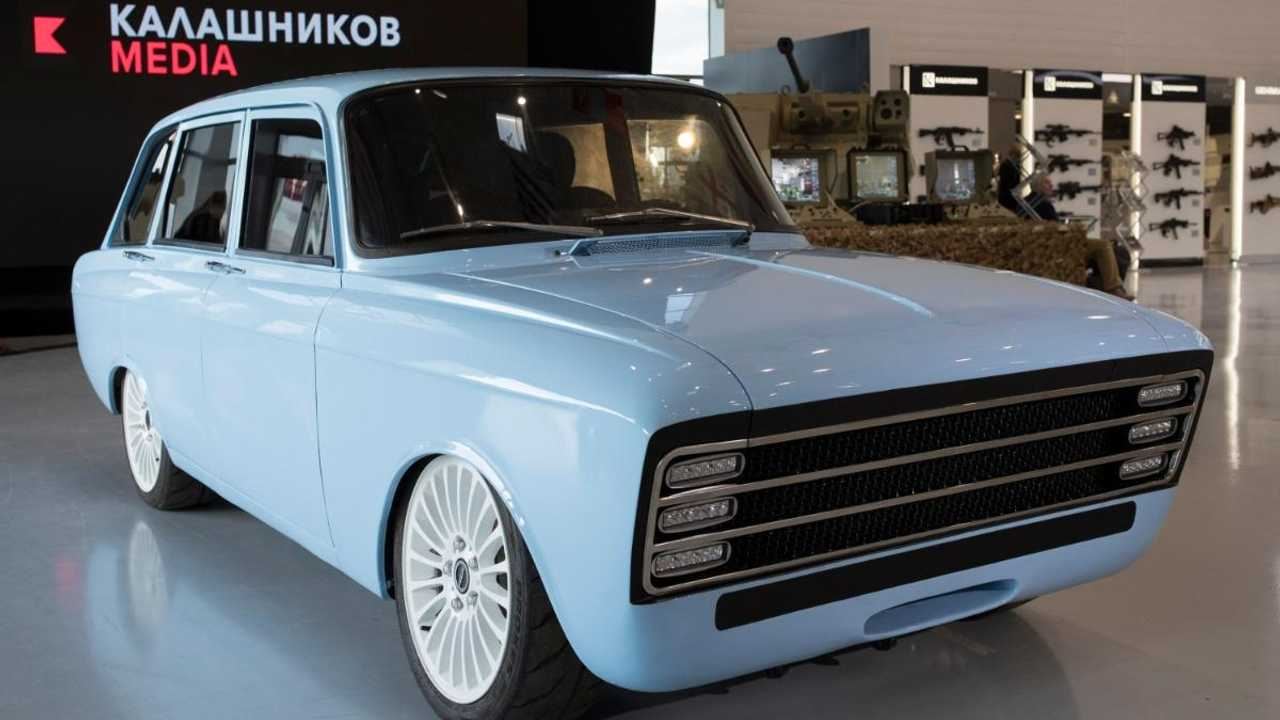 Soviet IZh 2125 'Kombi' making comeback as Kalashnikov electric car