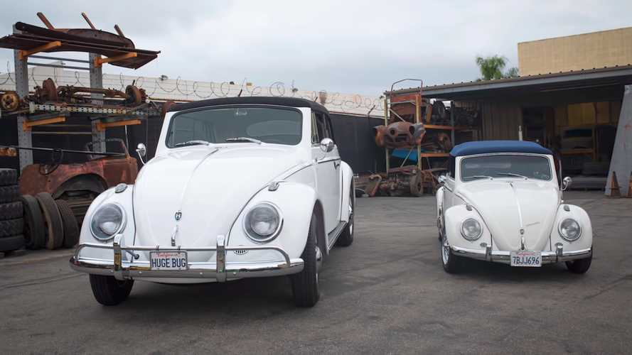 Oversized VW Beetle is one large bug