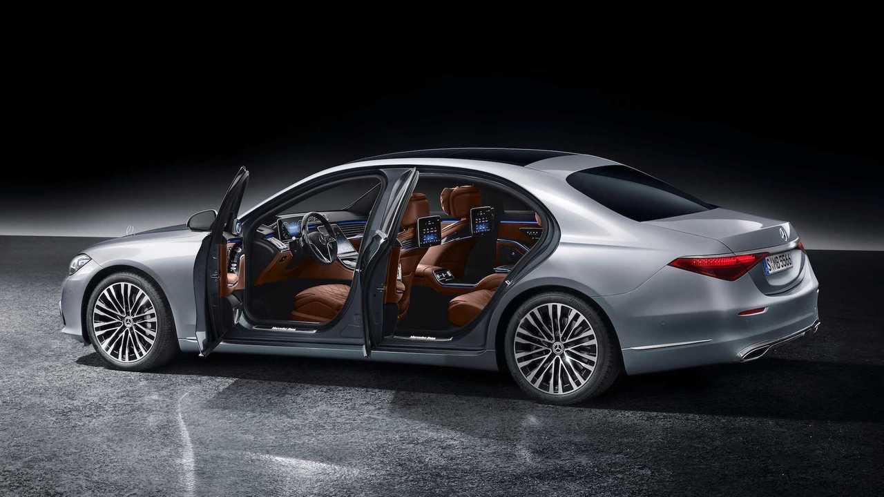 2021 Mercedes-Benz S-Class Rear