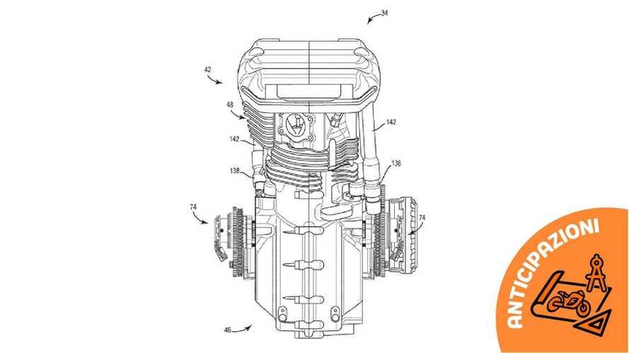 Harley-Davidson brevetta un motore a fasatura variabile