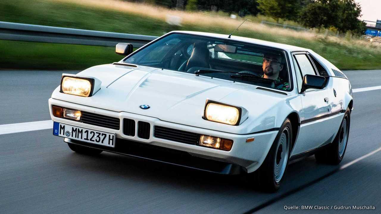 Im BMW M1 zur M Movie Night