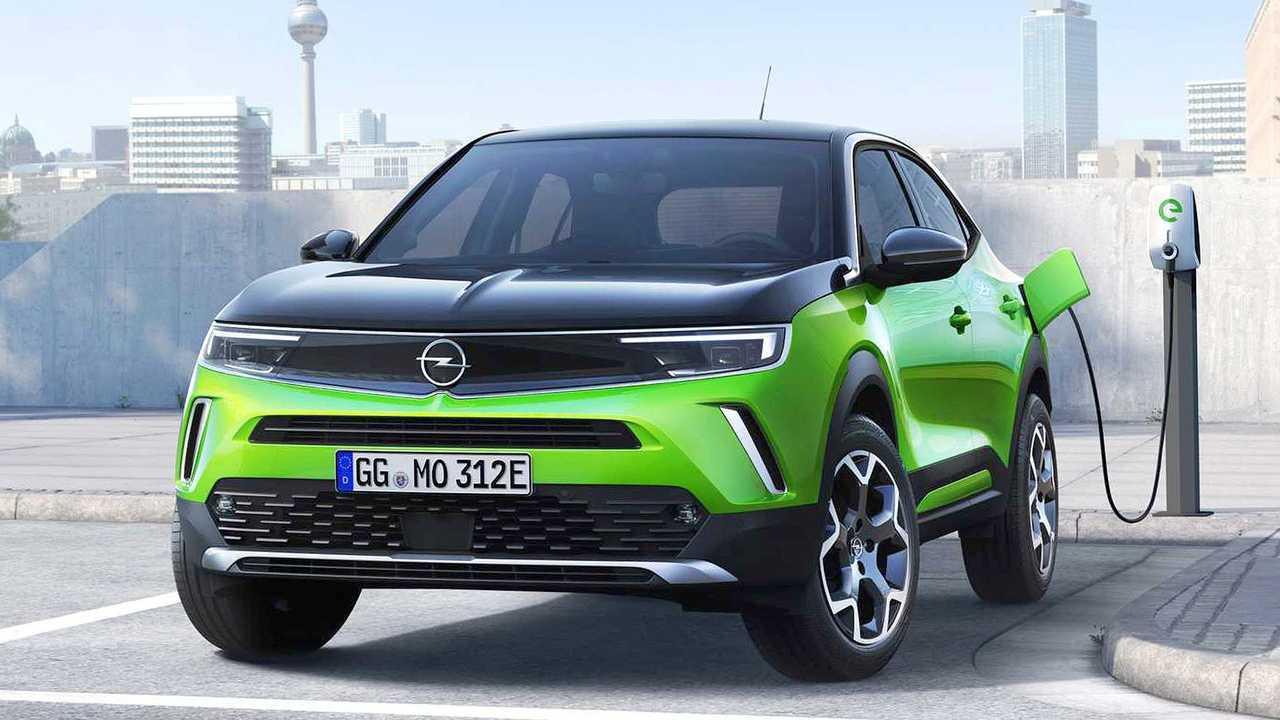 Opel Mokka-e (с начала 2021 года)