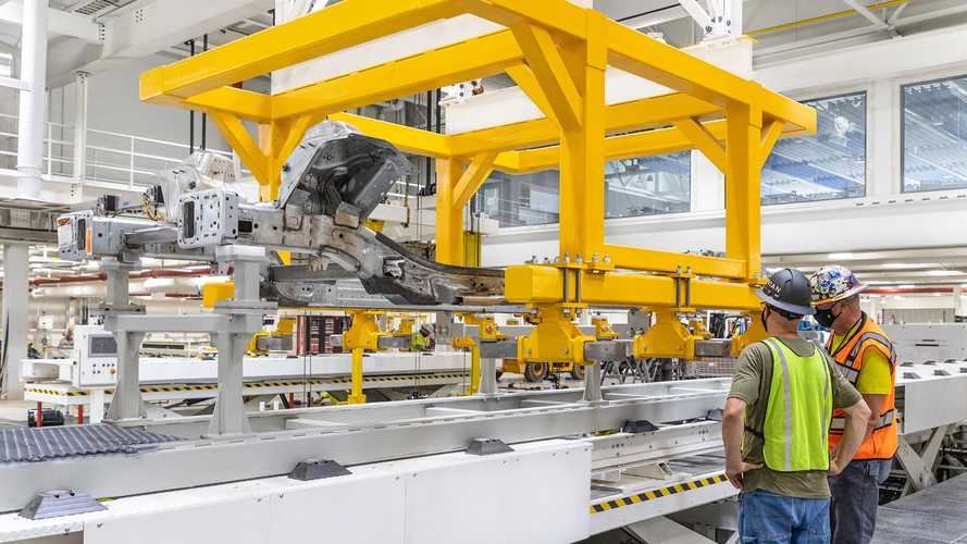 Rivian Normal factory production line