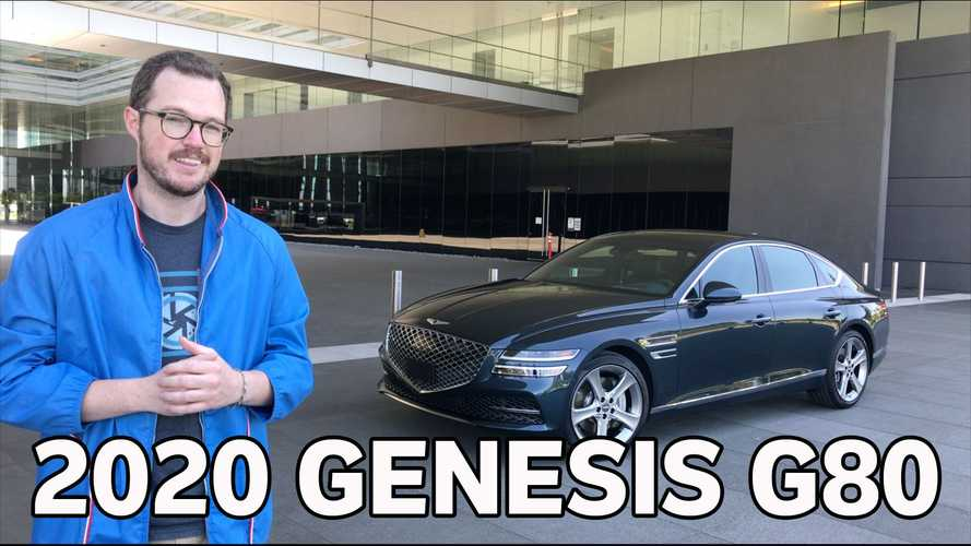 First Look: We Get Cozy With the 2021 Genesis G80 On Video