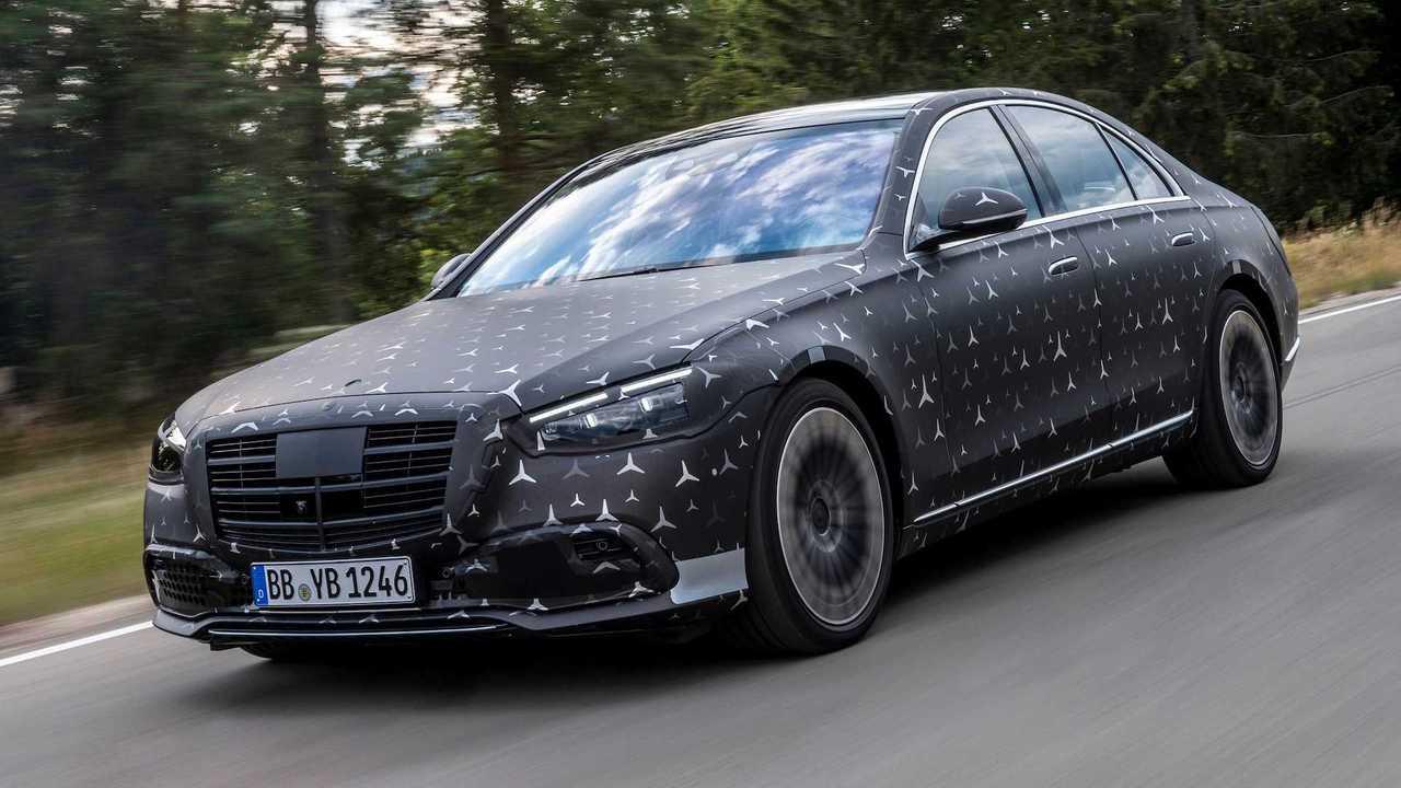 2020 Mercedes-Benz S-Serisi Teaser: E-Active Body Control
