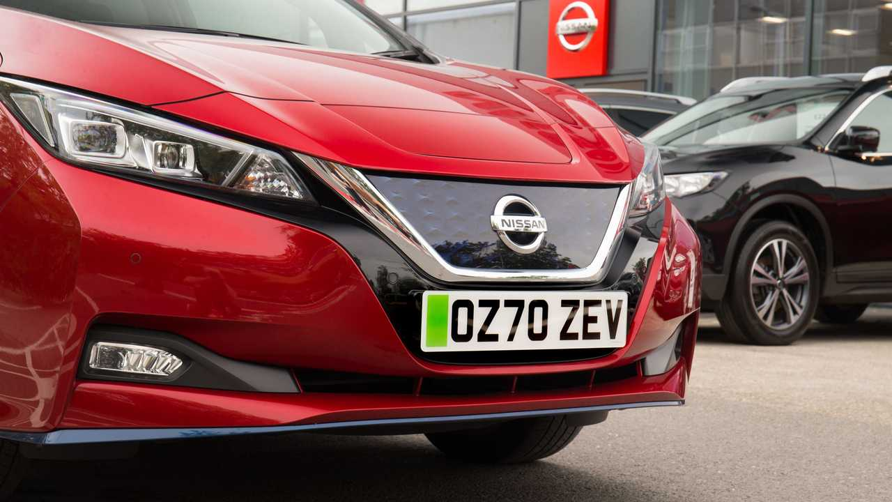 Nissan green number plates