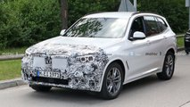 2022 BMW X3 facelift first spy photos