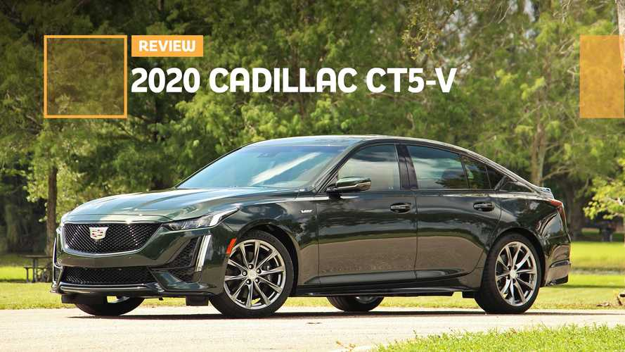 2020 Cadillac CT5-V Review: Good, Not Great