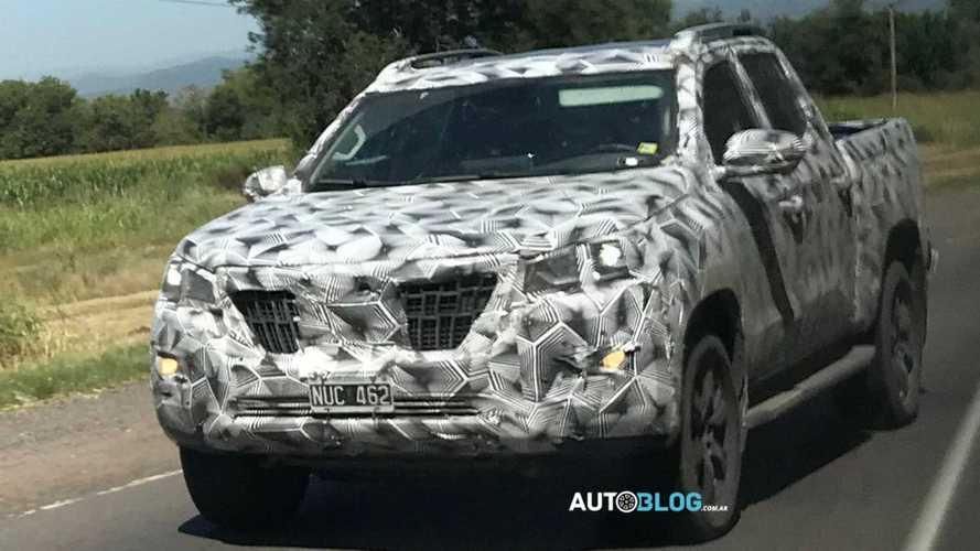 Peugeot Landtrek - Novos flagras na Argentina